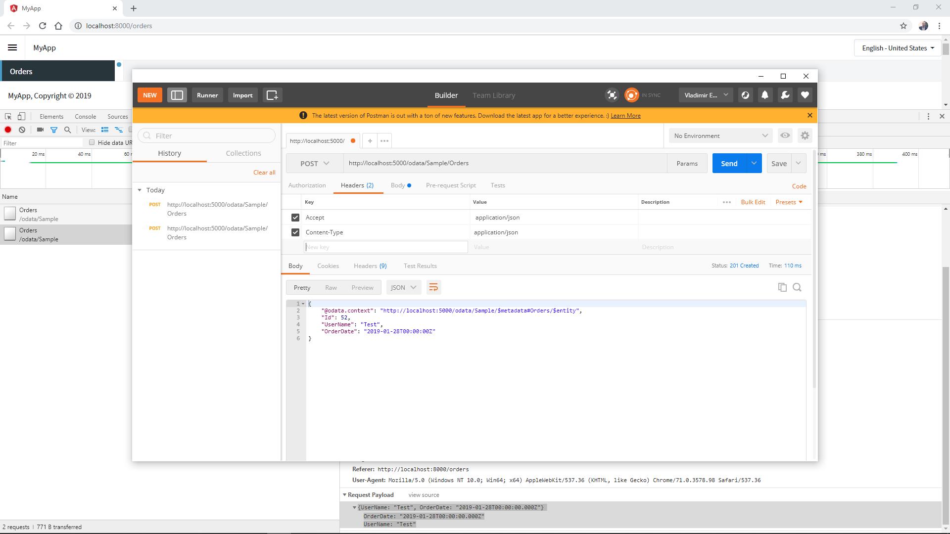 JSON as a list-collection from an API call - Radzen