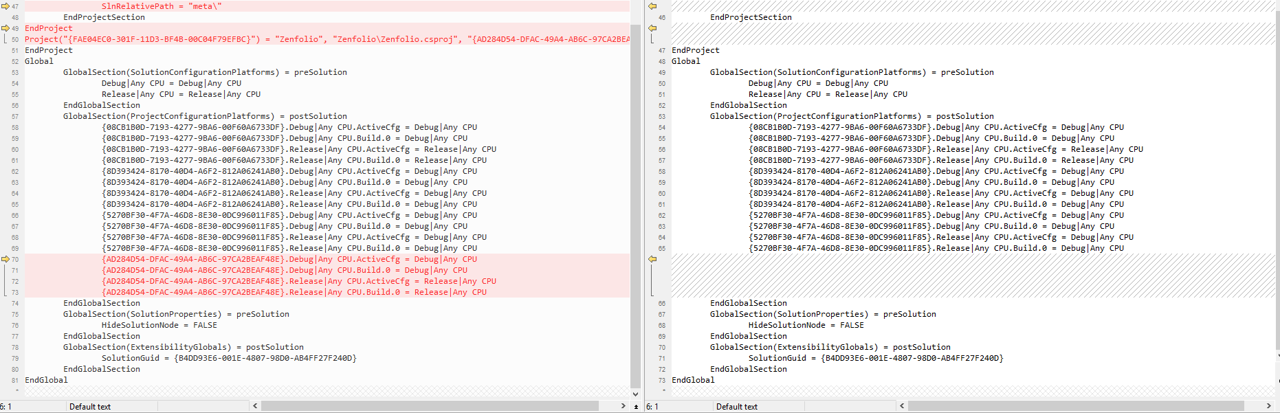 New Project Missing After Closing and Re-Opening VS2017