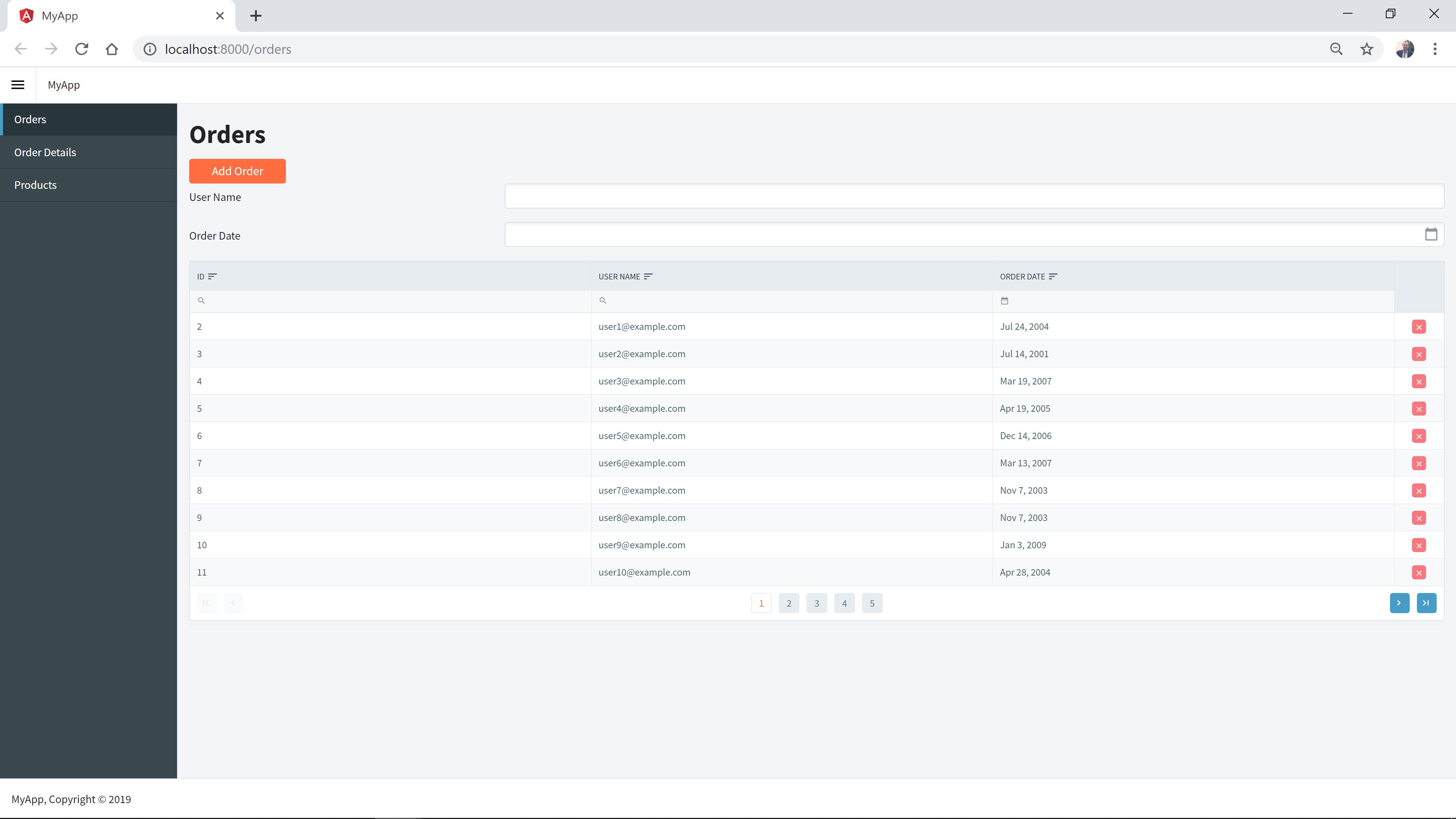Radzen support Inline grid edit/update - Angular - Radzen